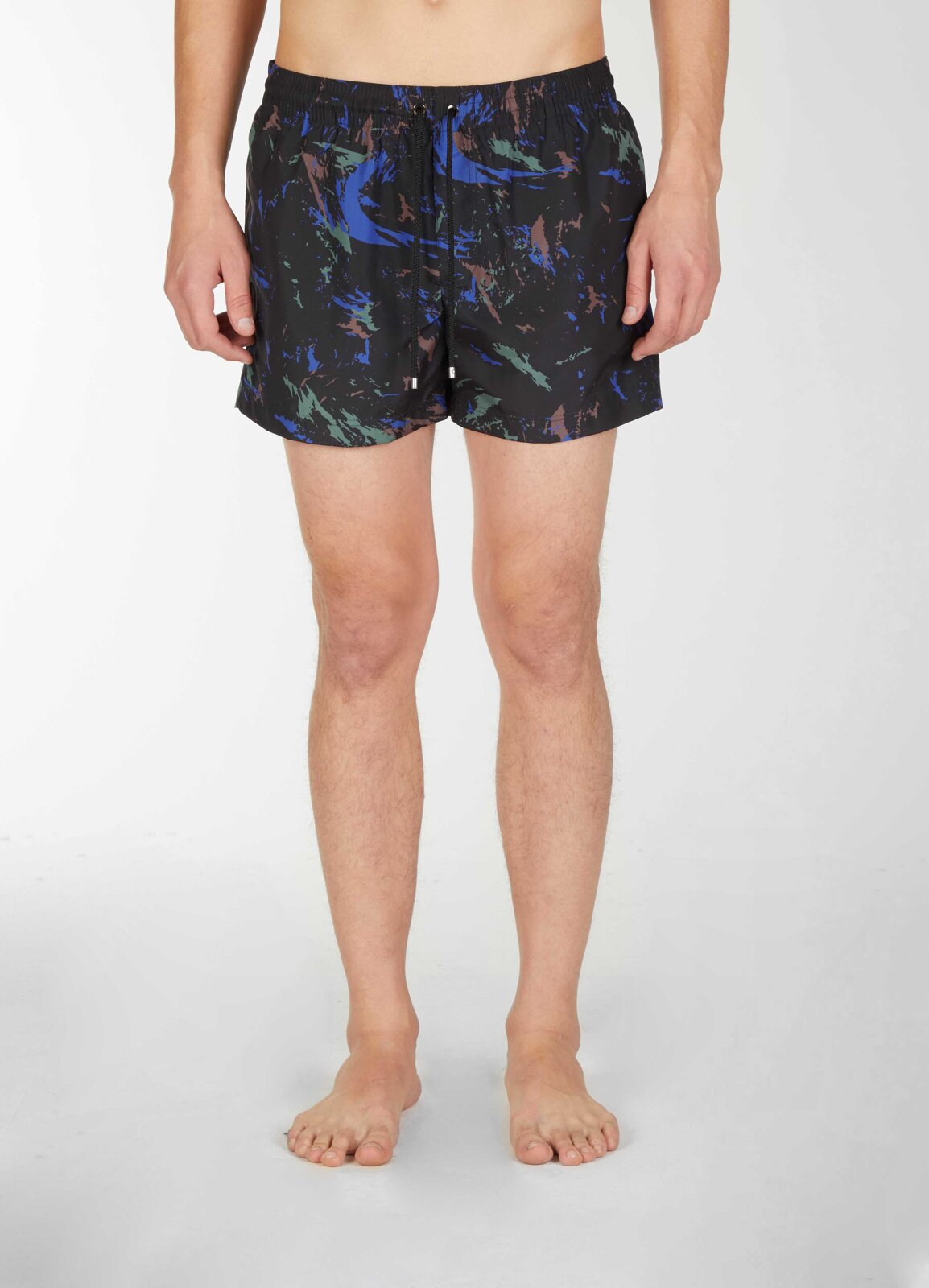 Swimpants con stampa mimetica - Les Hommes