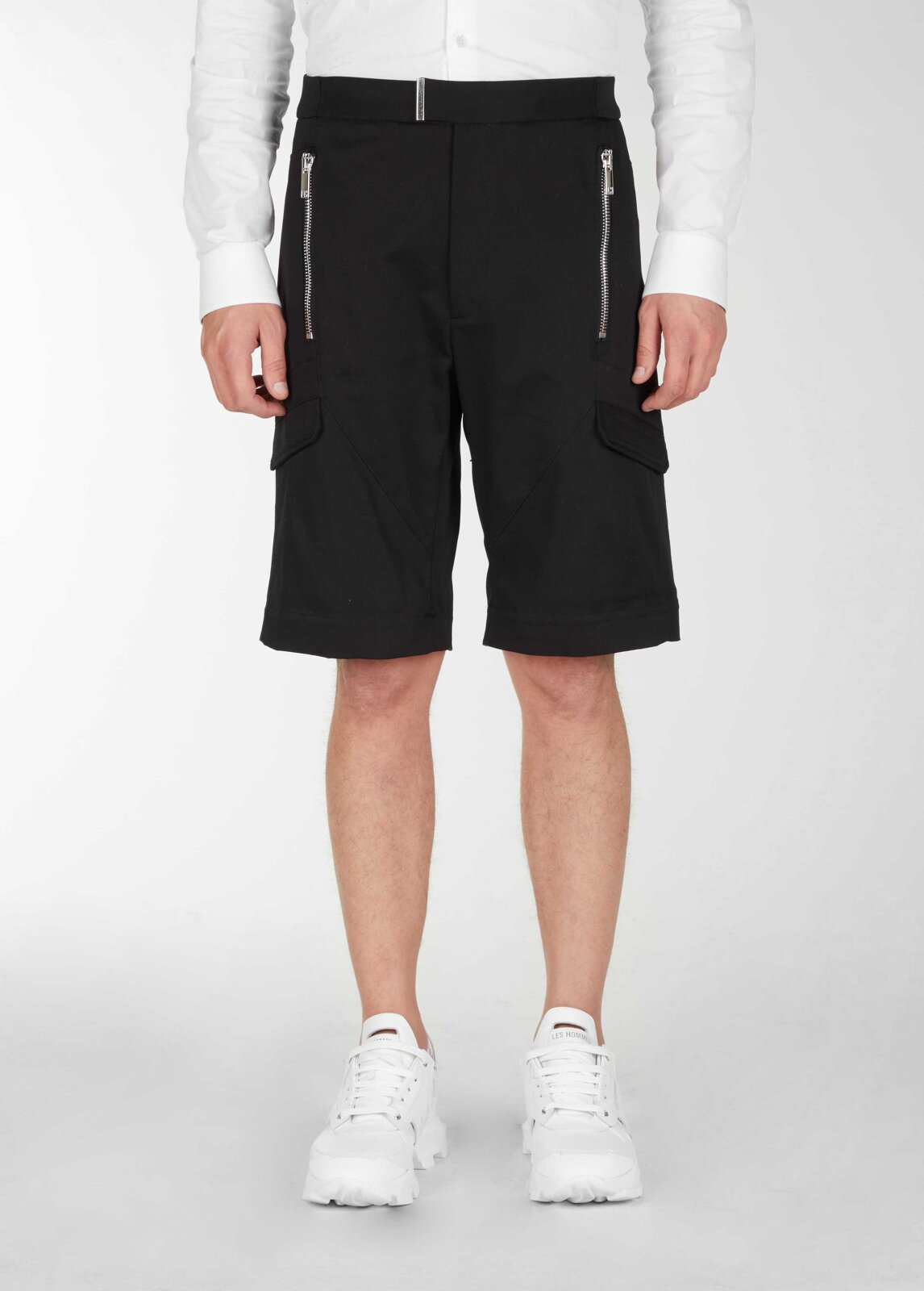 Pantaloni corti con tasche quadrate - Les Hommes