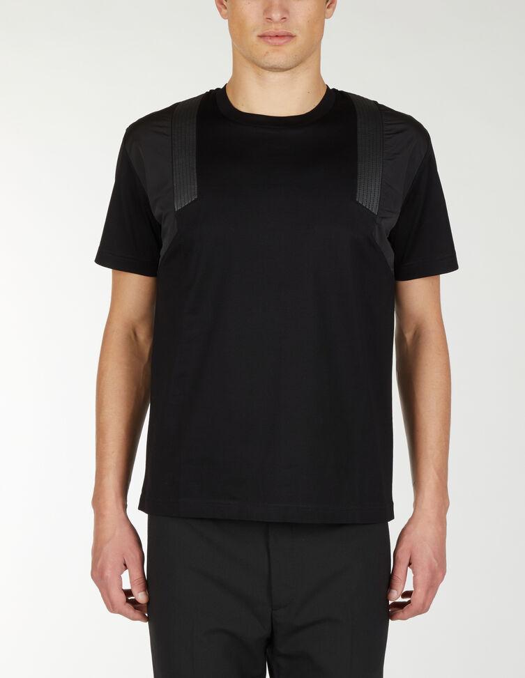 T-Shirt Con Dettaglio Spalla - Les Hommes