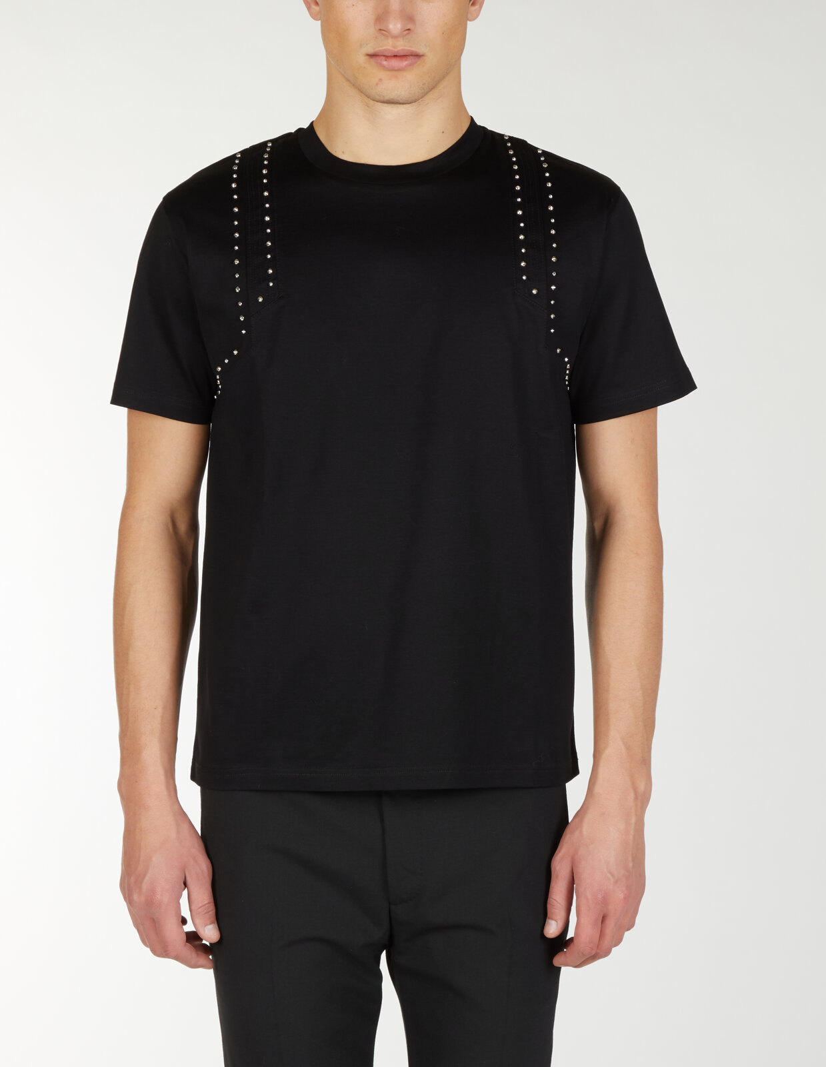 T-Shirt Con Borchie - Les Hommes