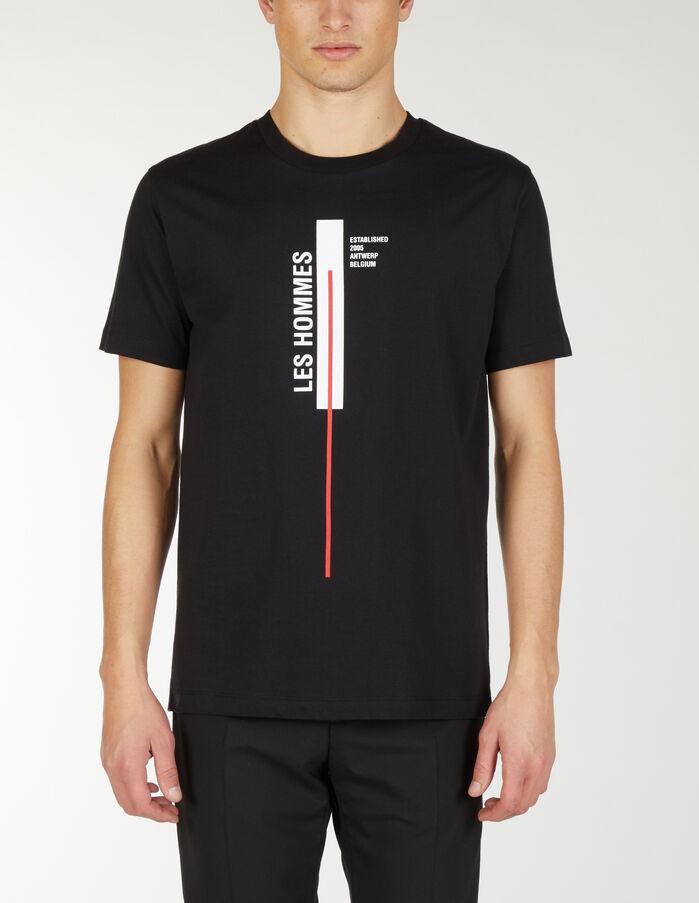 Maglietta Les Hommes Vertical Line - Les Hommes