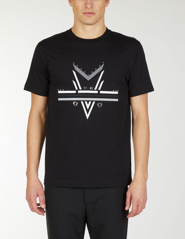 T Shirt Dardi Con Borchie - Les Hommes