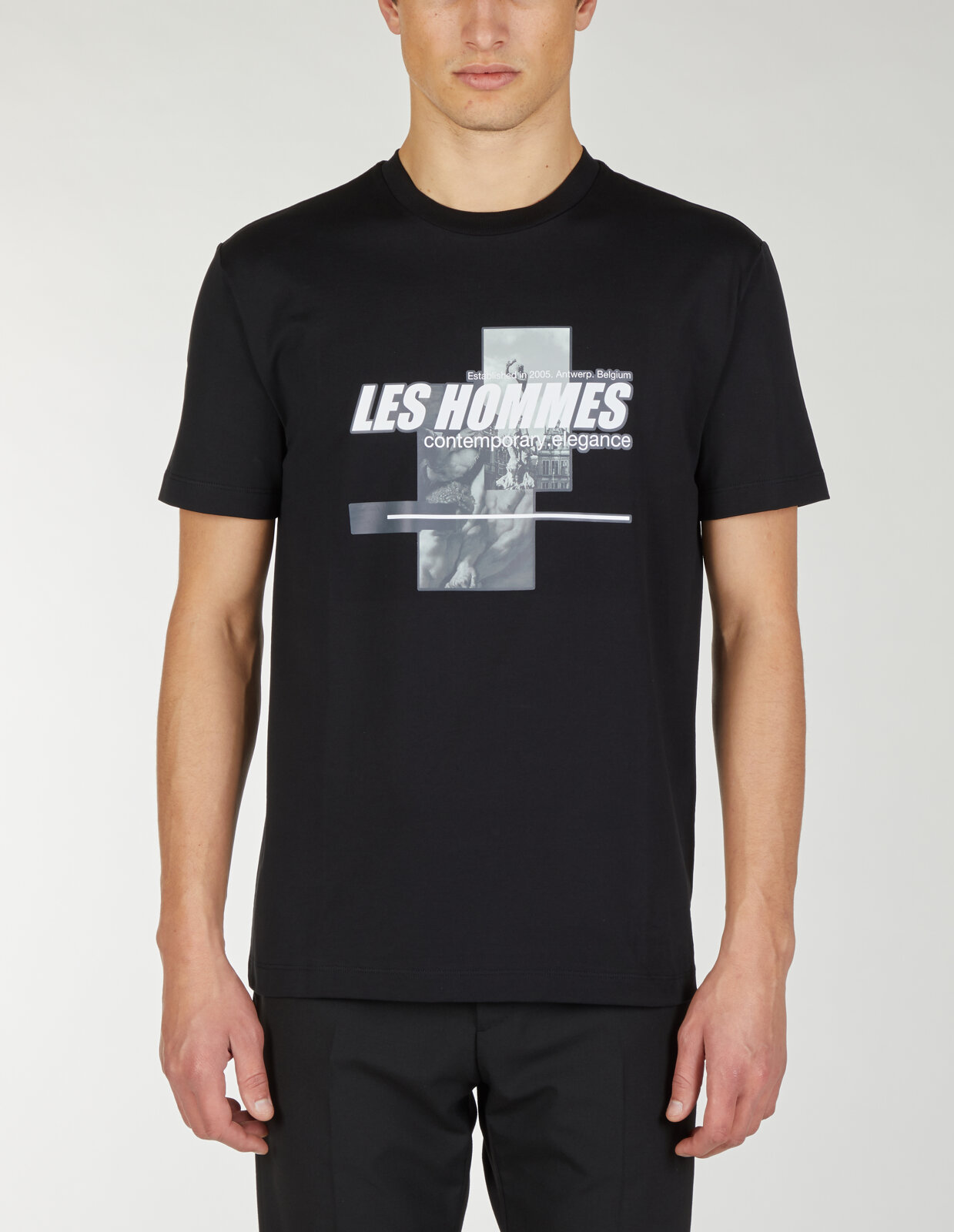 T Shirt Con Stampa Rave Antwerp - Les Hommes