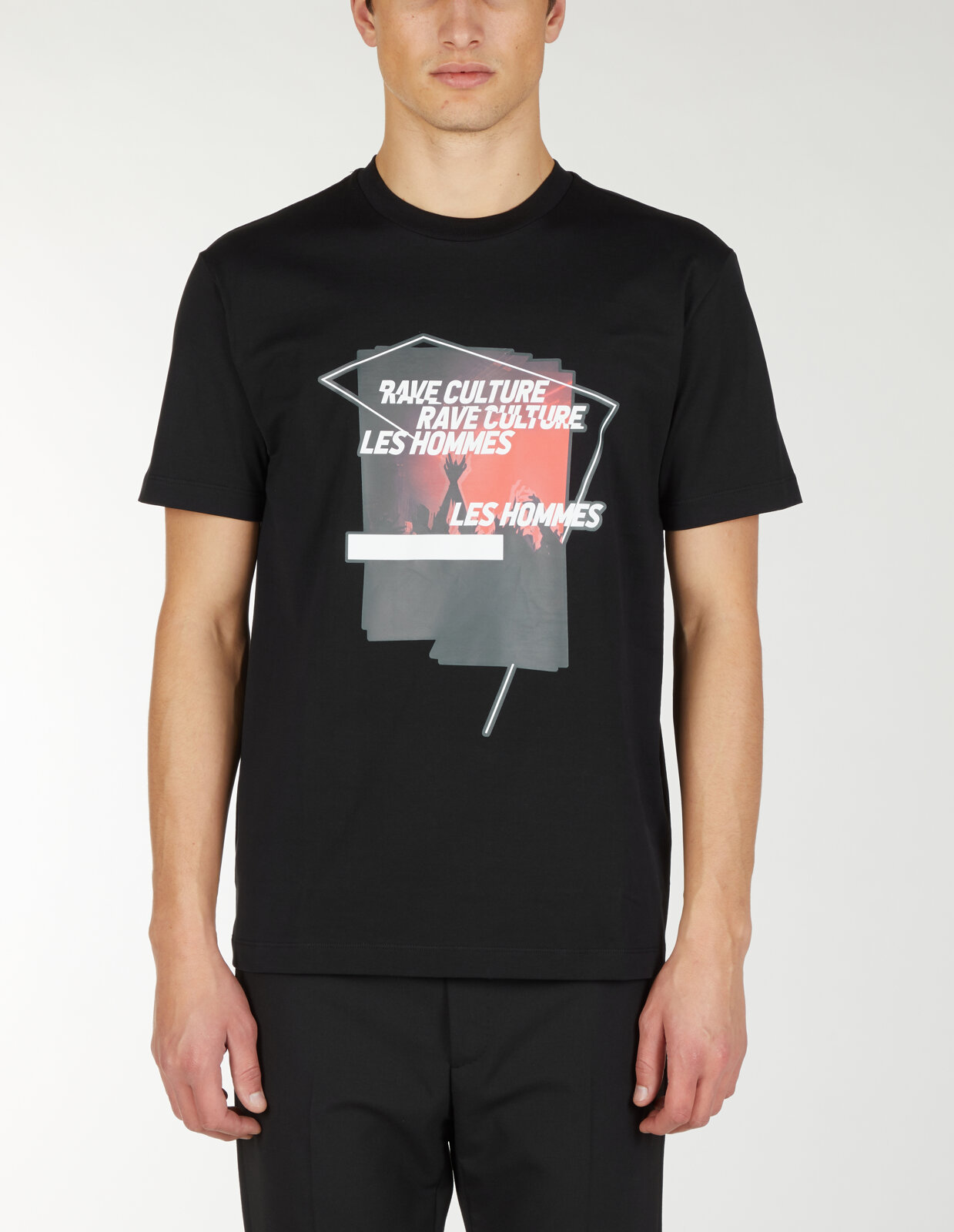 T-Shirt Con Stampa Rave Culture - Les Hommes