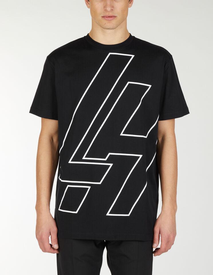 T-Shirt Con Grande Lh - Les Hommes