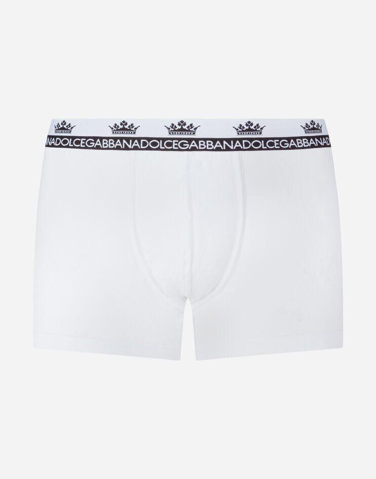 Boxer Jersey Di Cotone Bielastico - Dolce & Gabbana