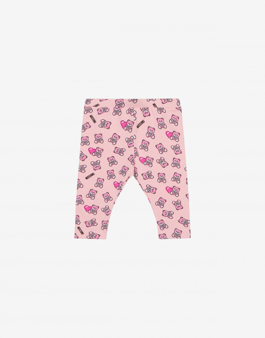Leggings Lovely Teddy Bear - Moschino Junior