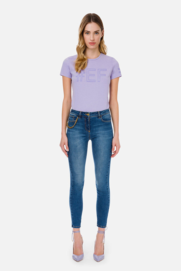 #Ef Hashtag T-Shirt - Elisabetta Franchi