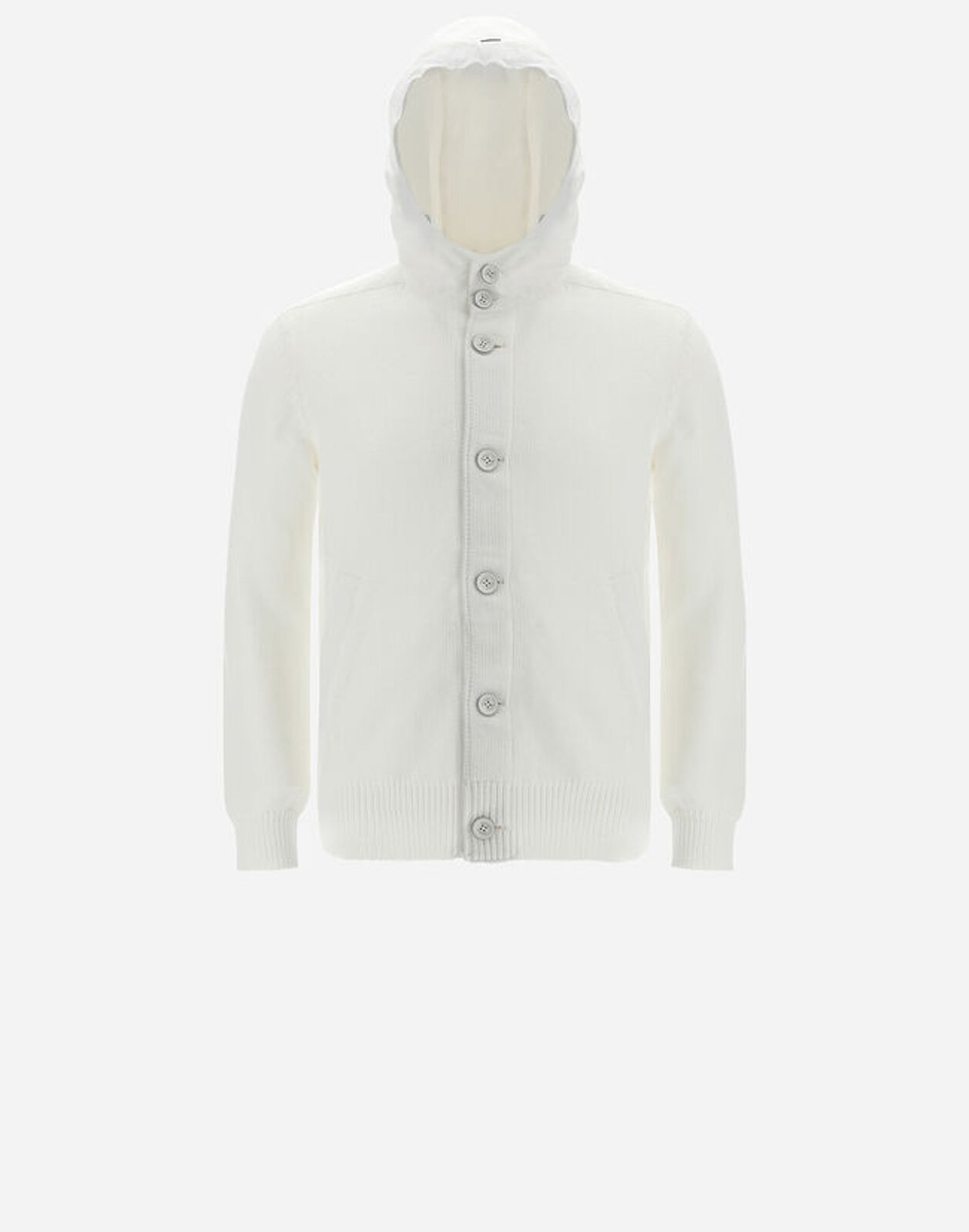 Puffy Cotton Bomber With Plaster - Herno