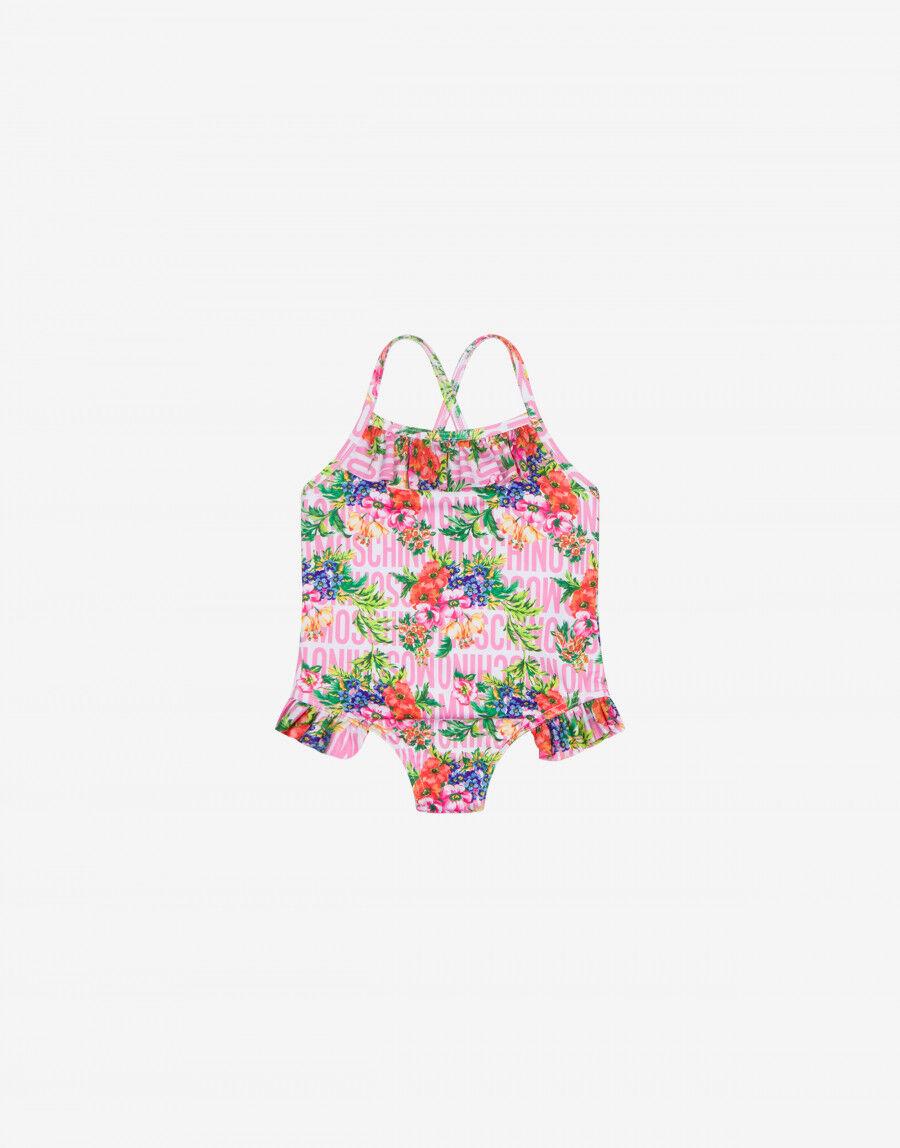 Costume Intero Flowers Lost & Found - Moschino Junior