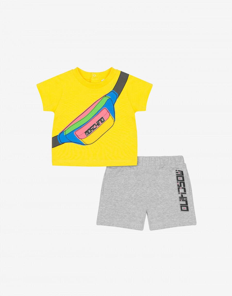 Completo T-Shirt E Short Moschino Fanny Pack - Moschino Junior