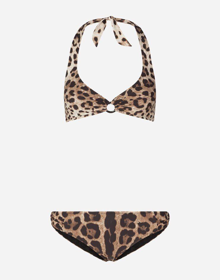Bikini Stampa Leopardo - Dolce & Gabbana
