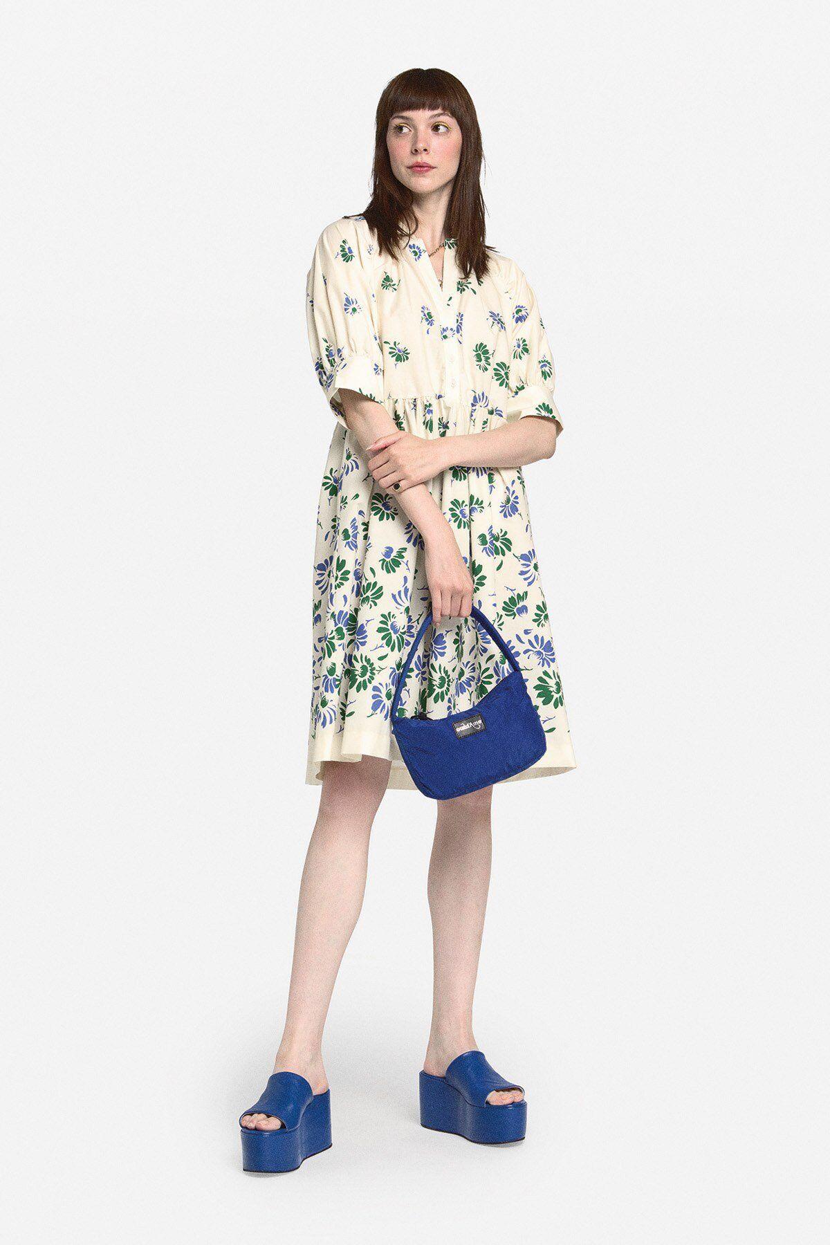 Mini Cotton Dress - ottod'Ame