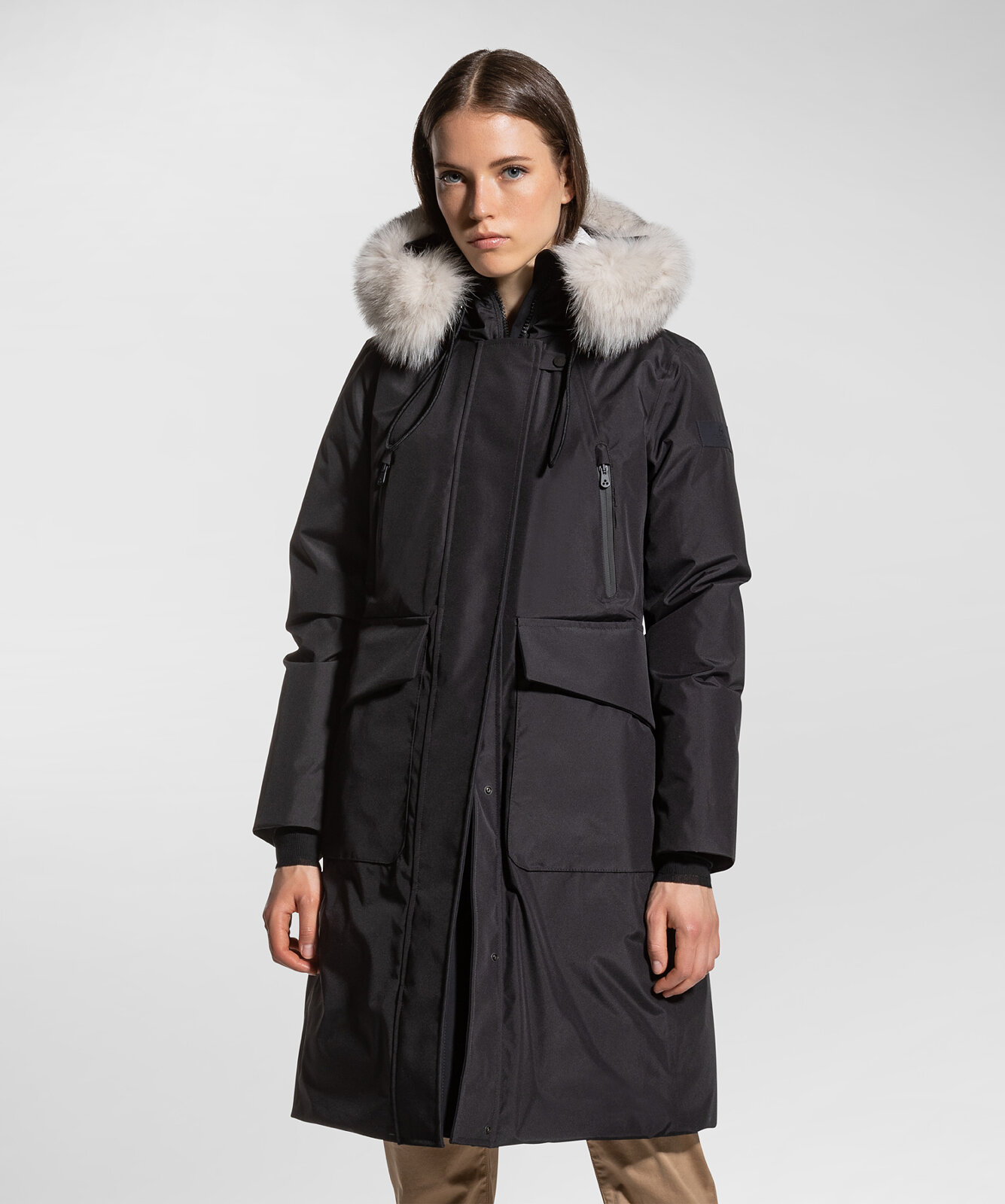 Parka in laminated fabric - Peuterey