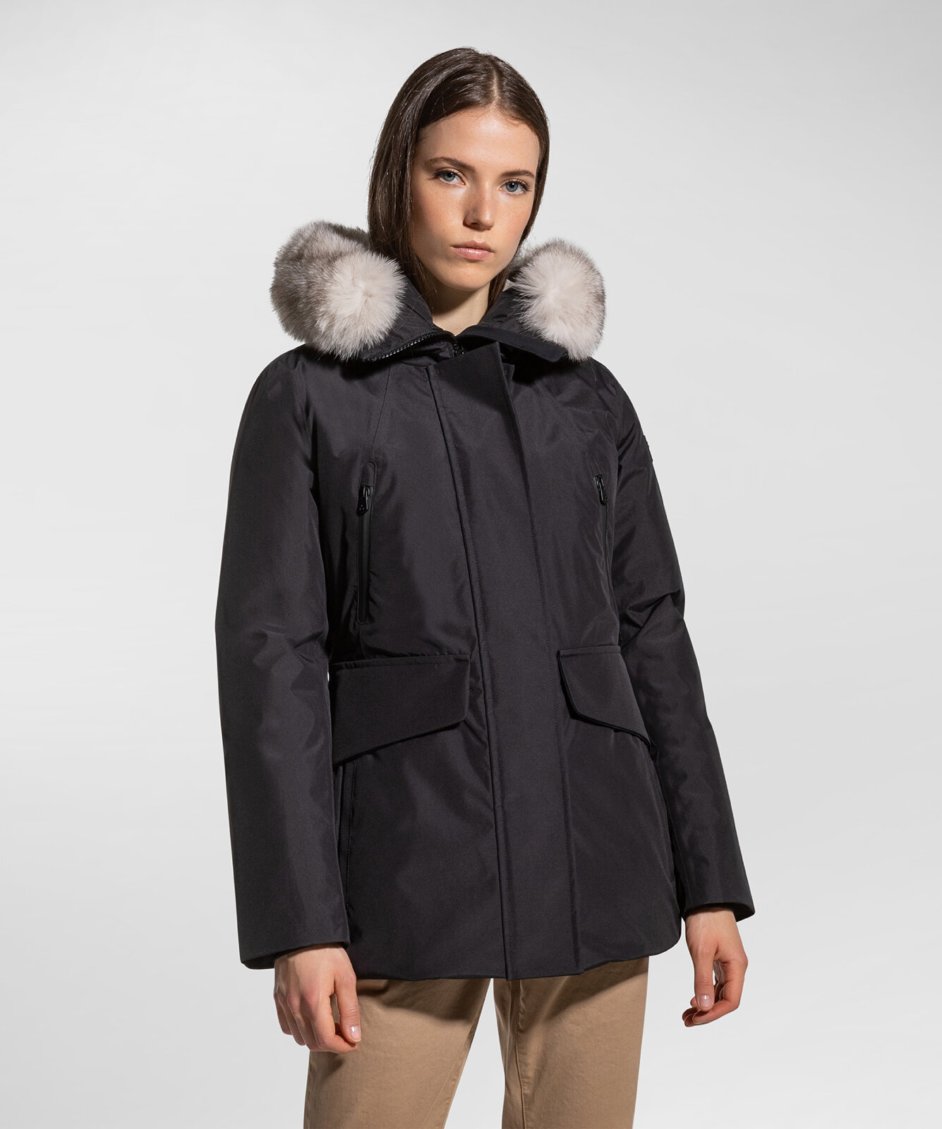 Parka in technical laminated fabric - Peuterey