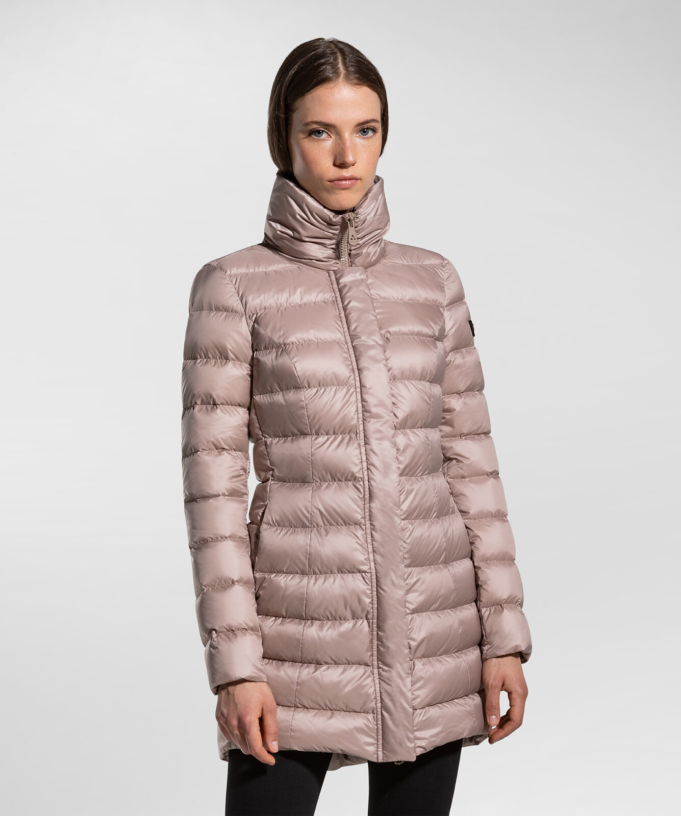 Down Jacket With High Collar - Peuterey
