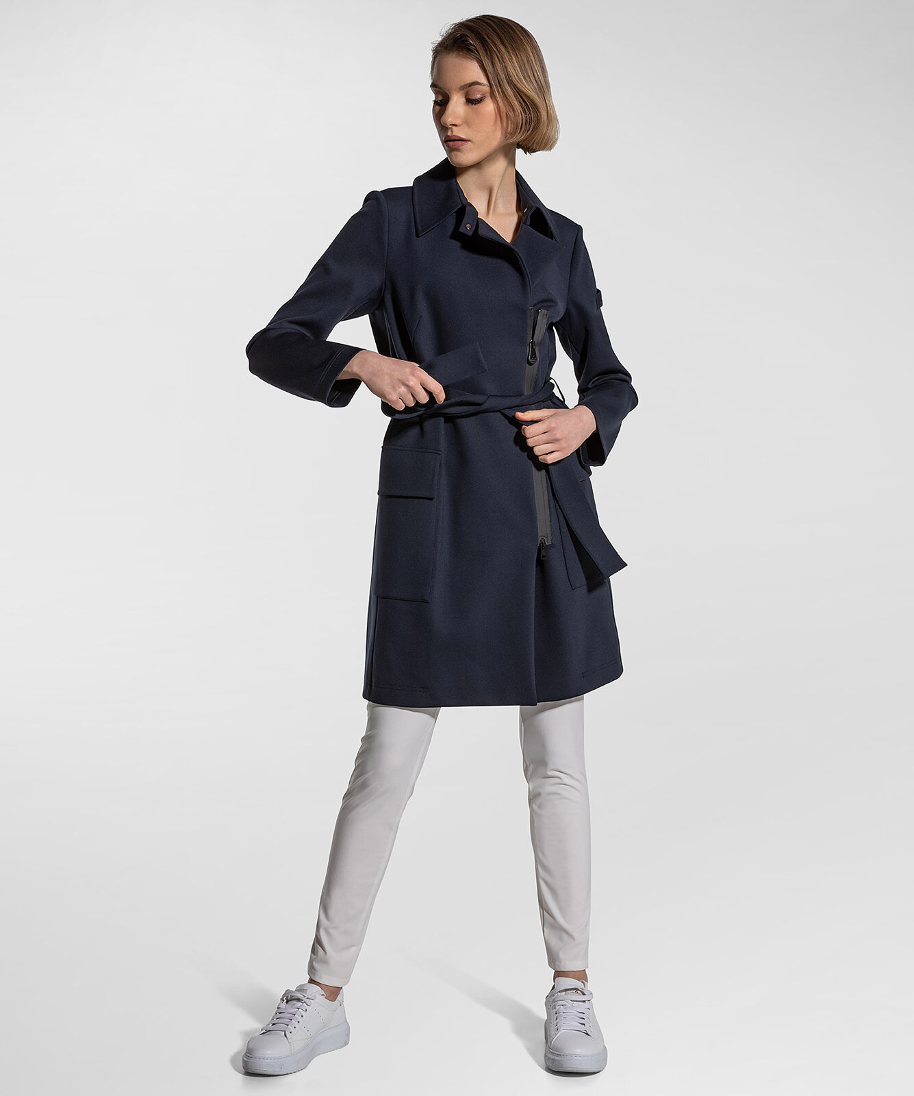 Trench In Jersey Stretch Tecnico - Peuterey