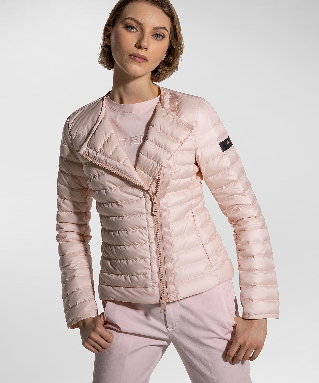Slim Fit And Superlight Down Jacket - Peuterey