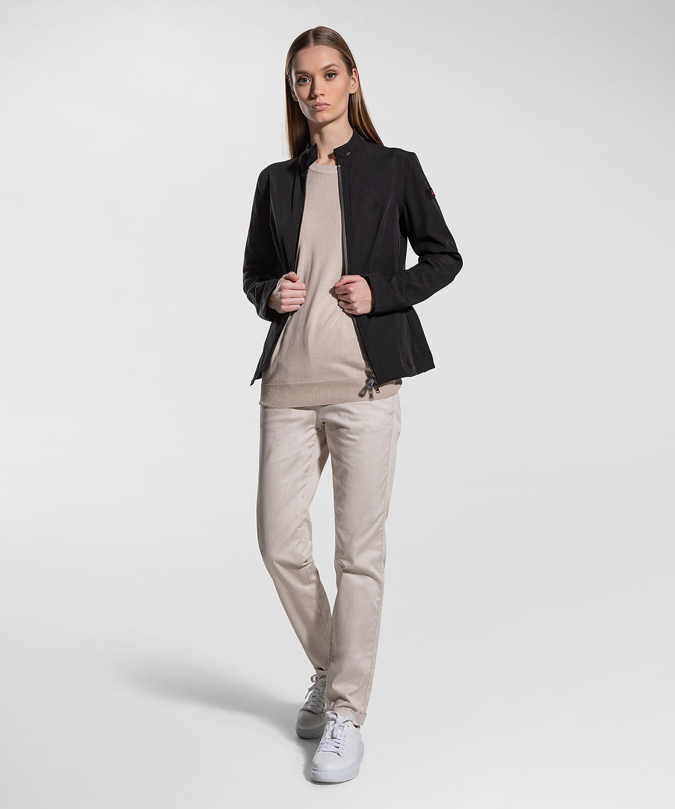Bomber In Bonded And Comfortable Fabric - Peuterey
