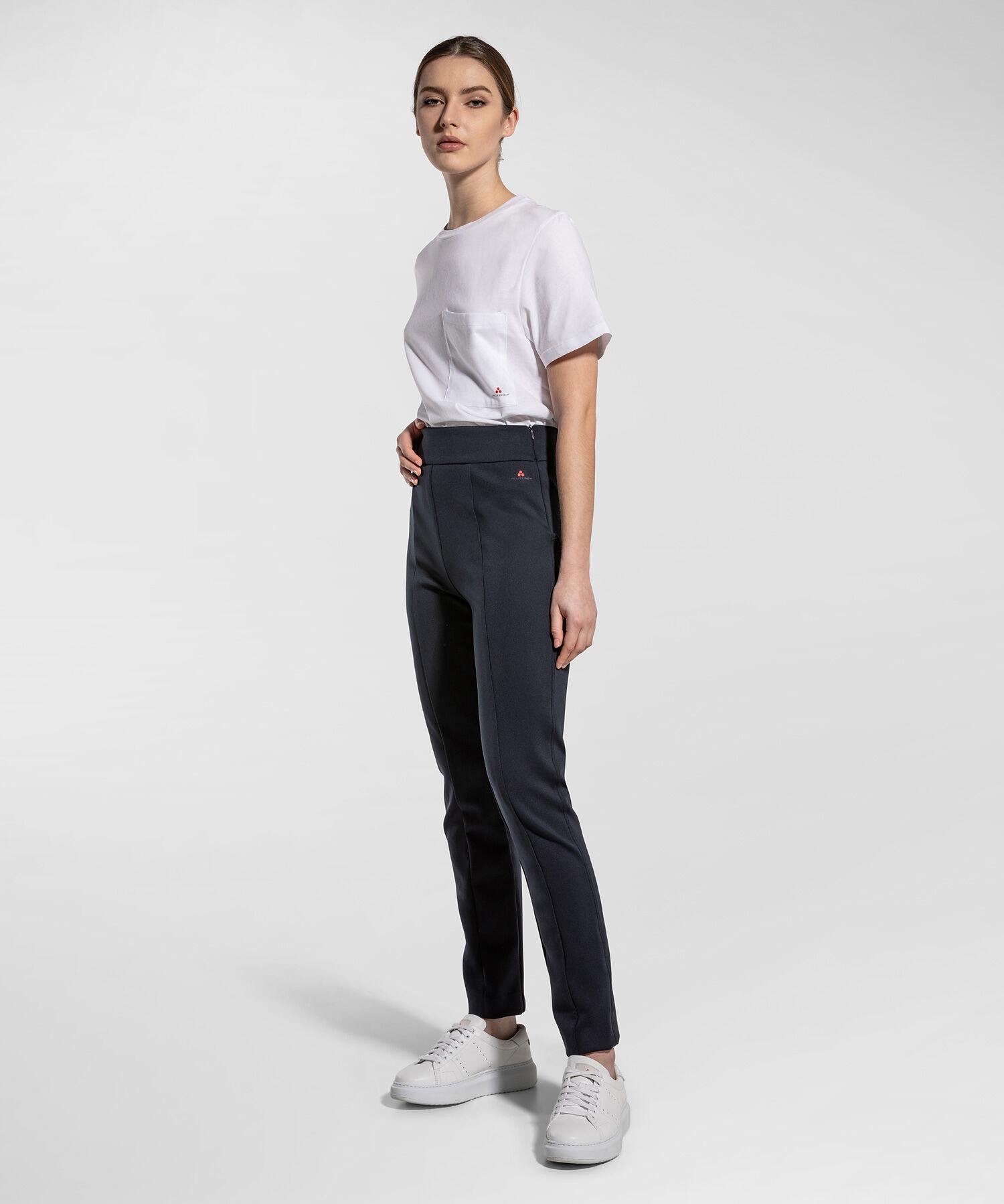 Pantaloni Slim In Tessuto Tecnico - Peuterey