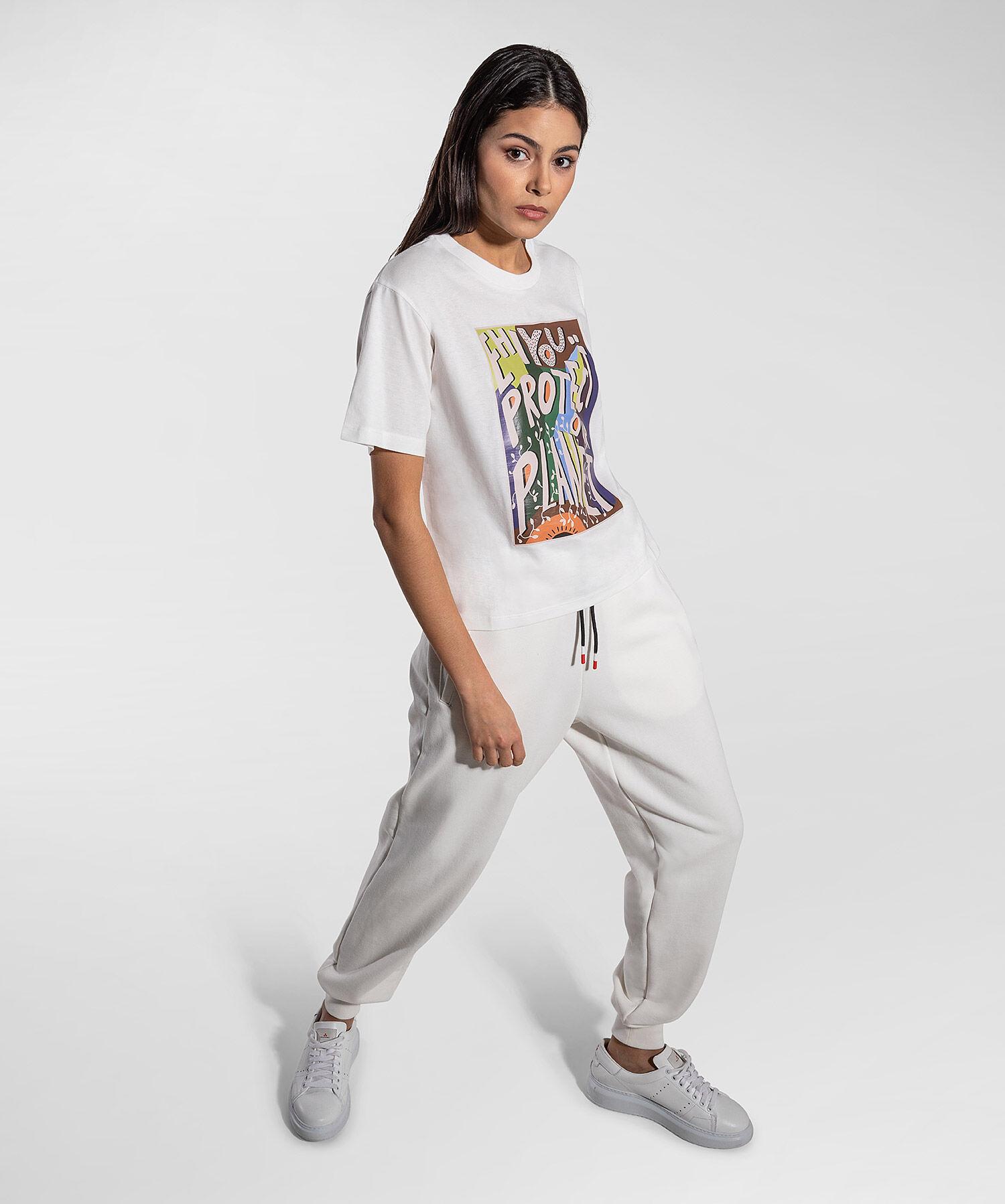 T-Shirt Con Claim Eco - Peuterey