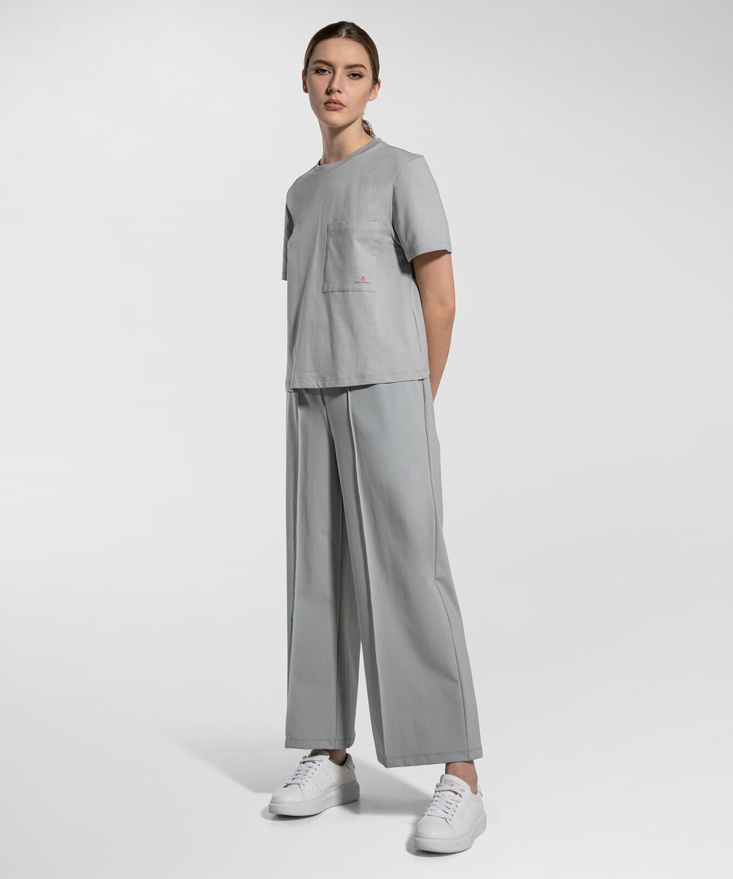Pantaloni Cropped E Tecnici - Peuterey
