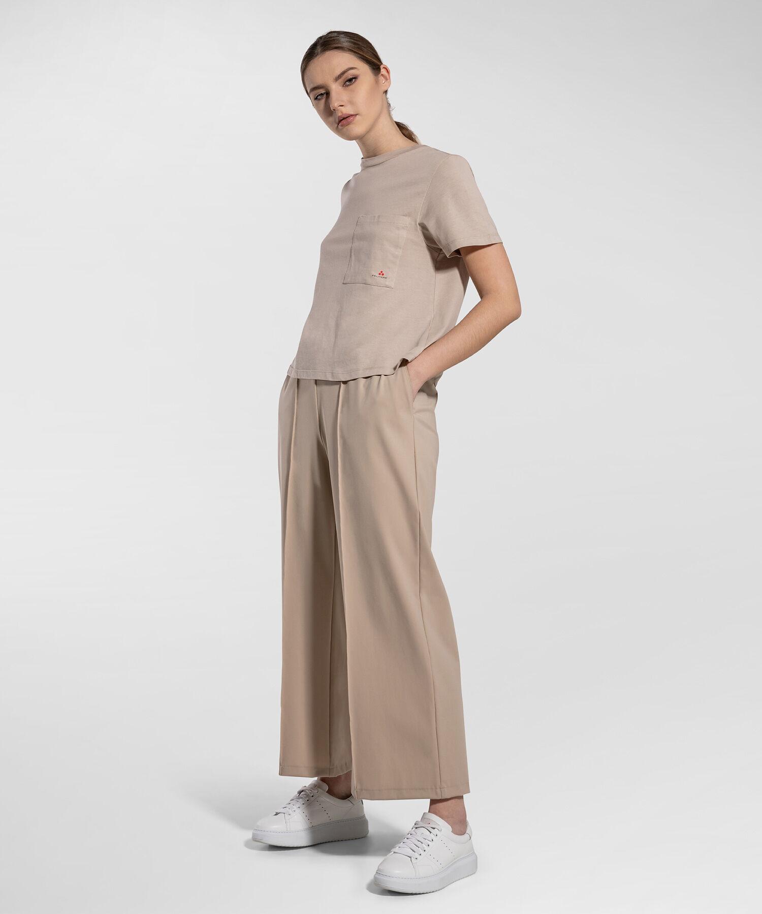 T-Shirt Con Tasca Applicata - Peuterey