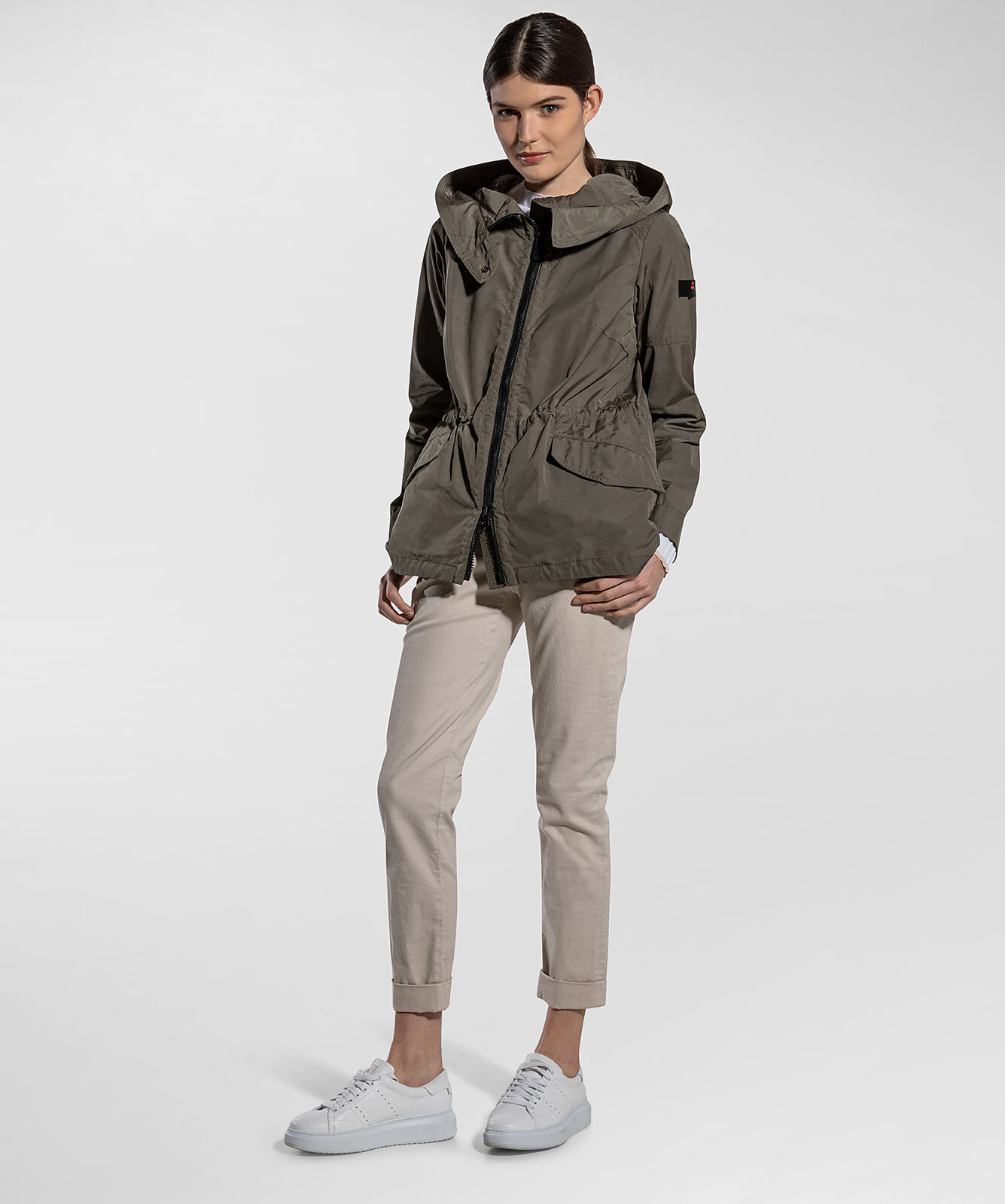 Casual And Water Repellent Parka - Peuterey
