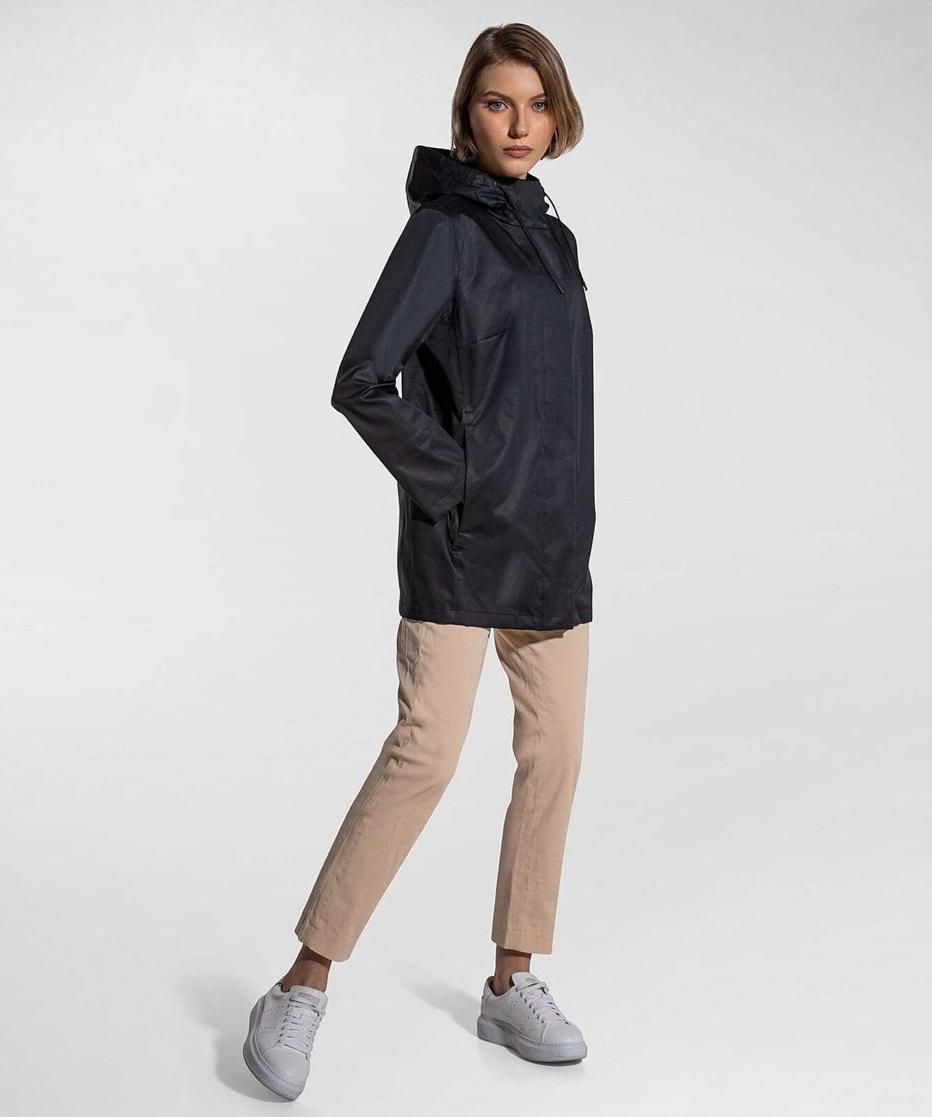 Smooth parka in three-layer fabric - Peuterey