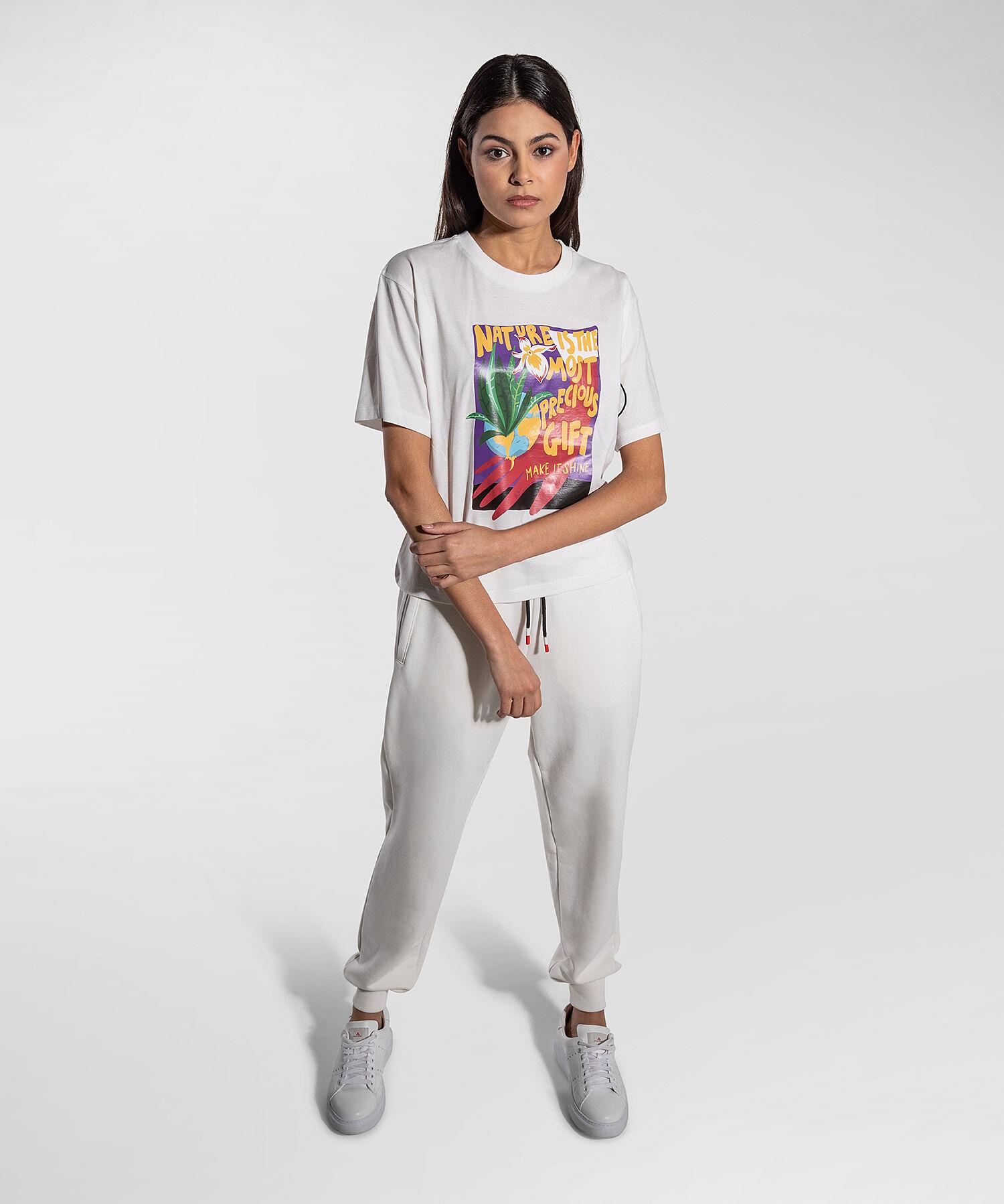 T-Shirt Con Claim Nature - Peuterey