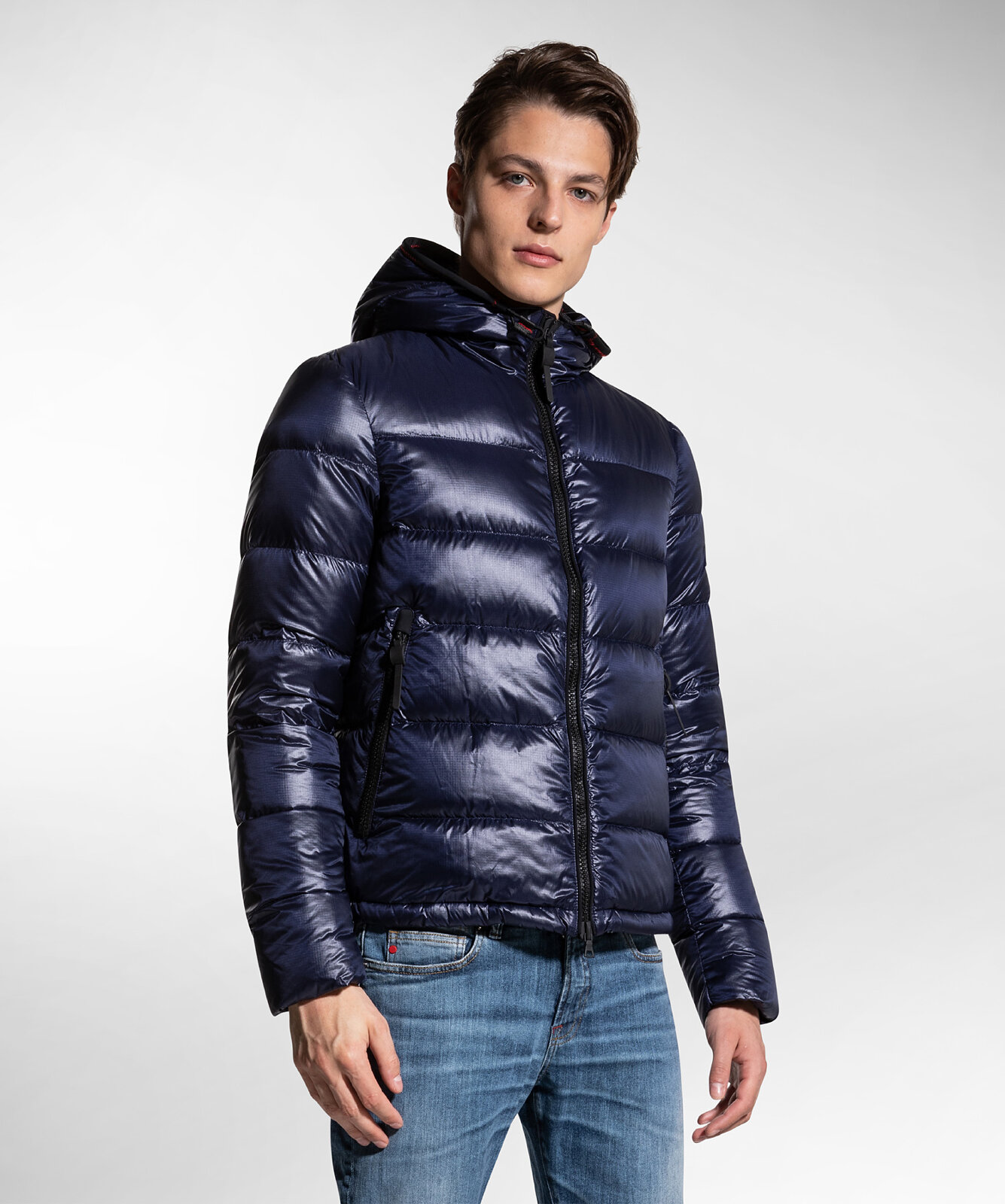 Nylon Ripstop Down Jacket - Peuterey