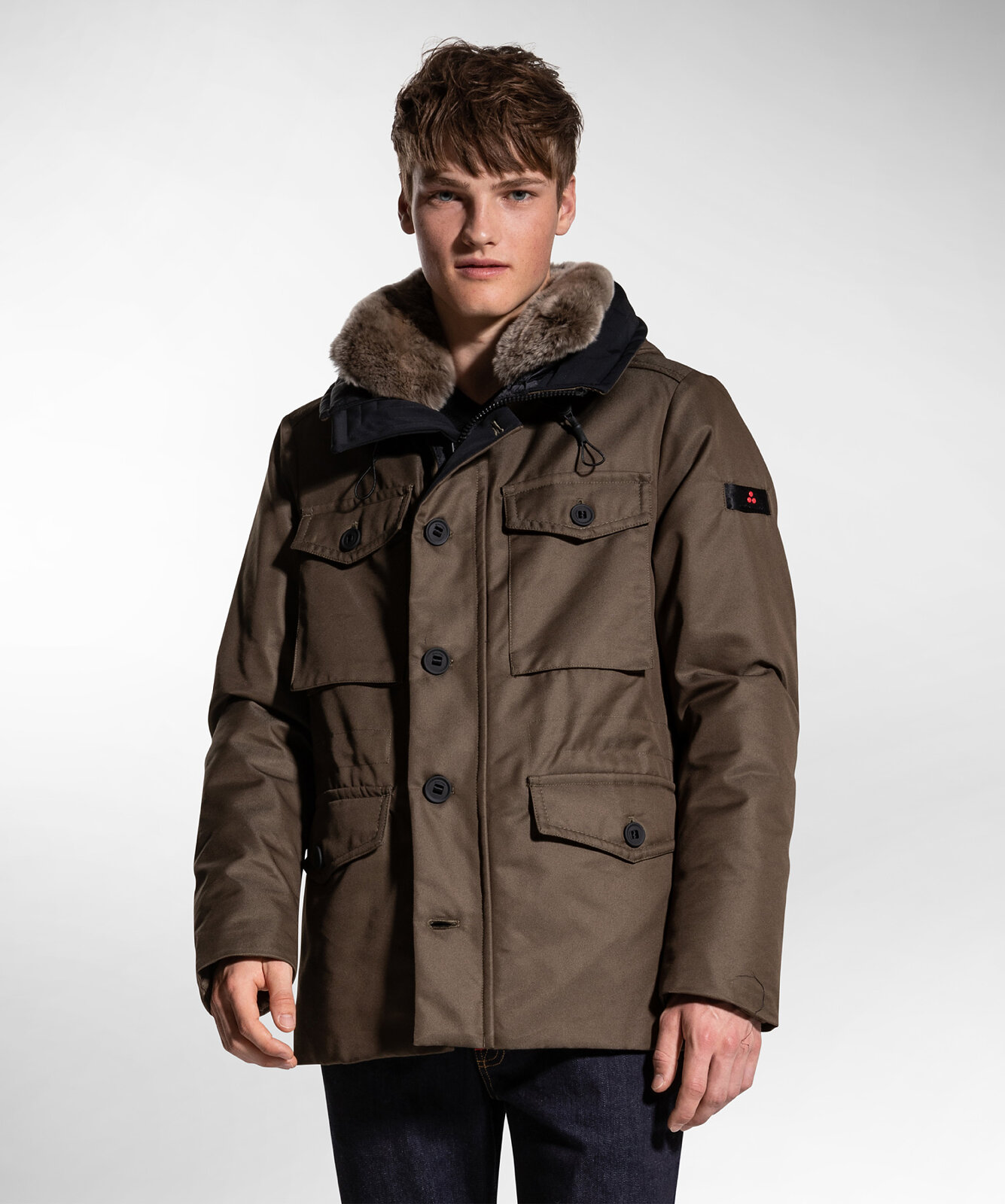 Field Jacket In Technical Fabric - Peuterey
