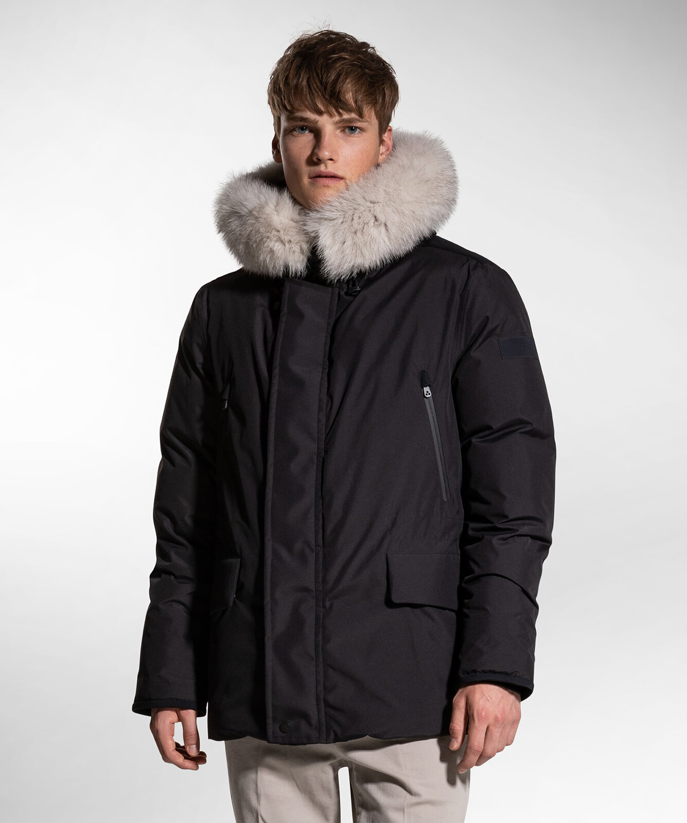Long Down Jacket In Down Proof Superlight Fabric - Peuterey