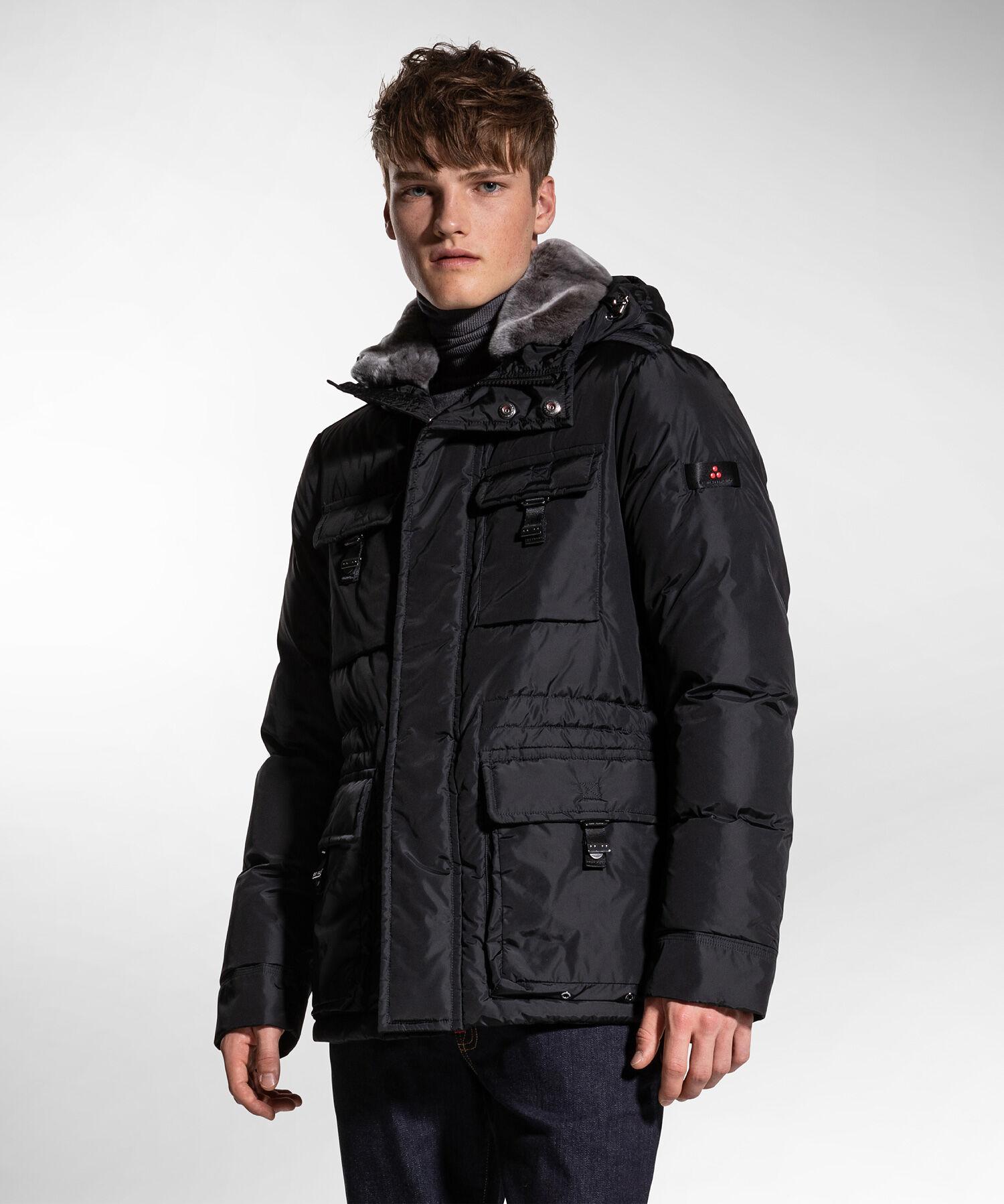 Field jacket con collo in pelliccia - Peuterey