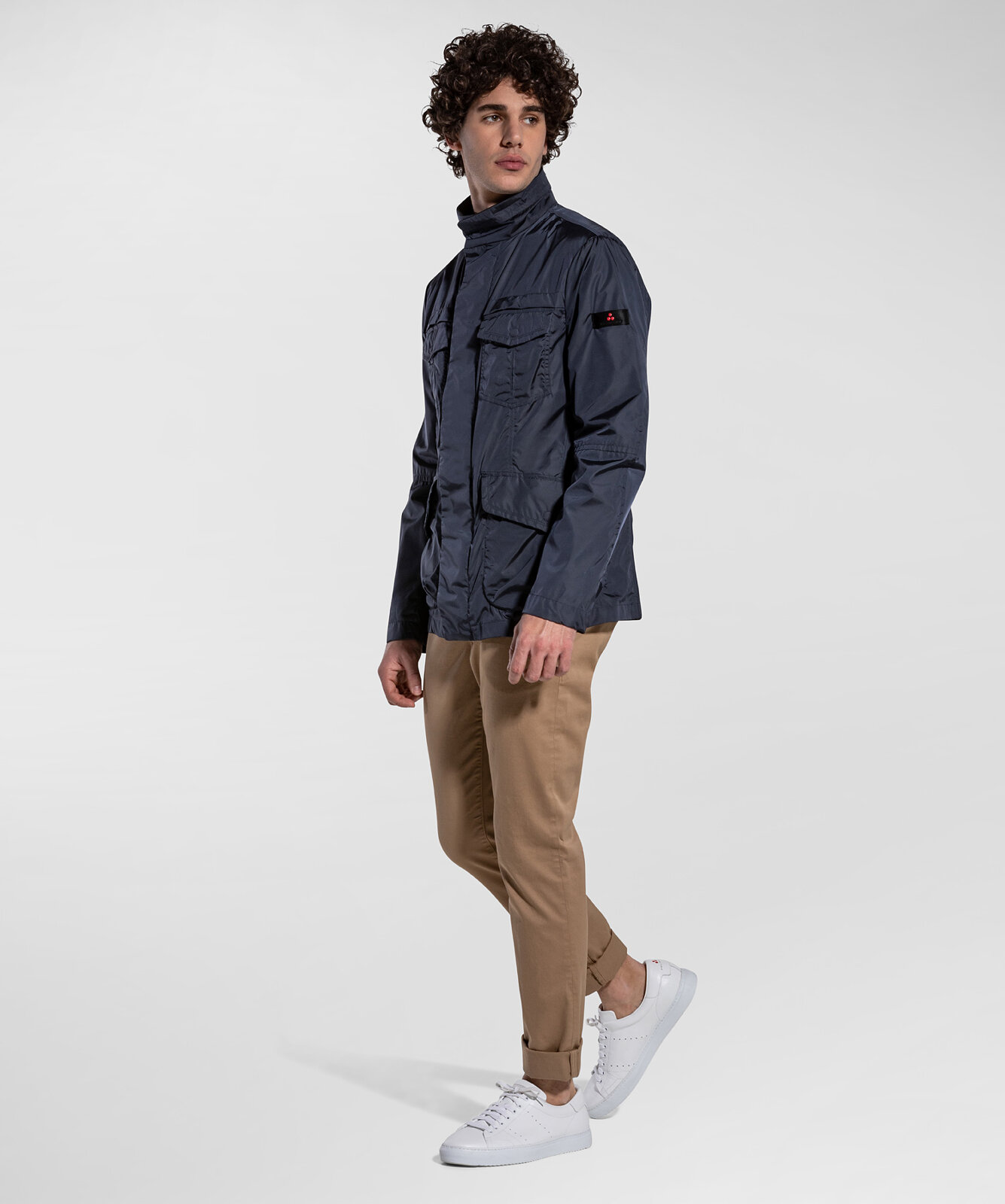 Field Jacket Four Pockets In Taffeta - Peuterey