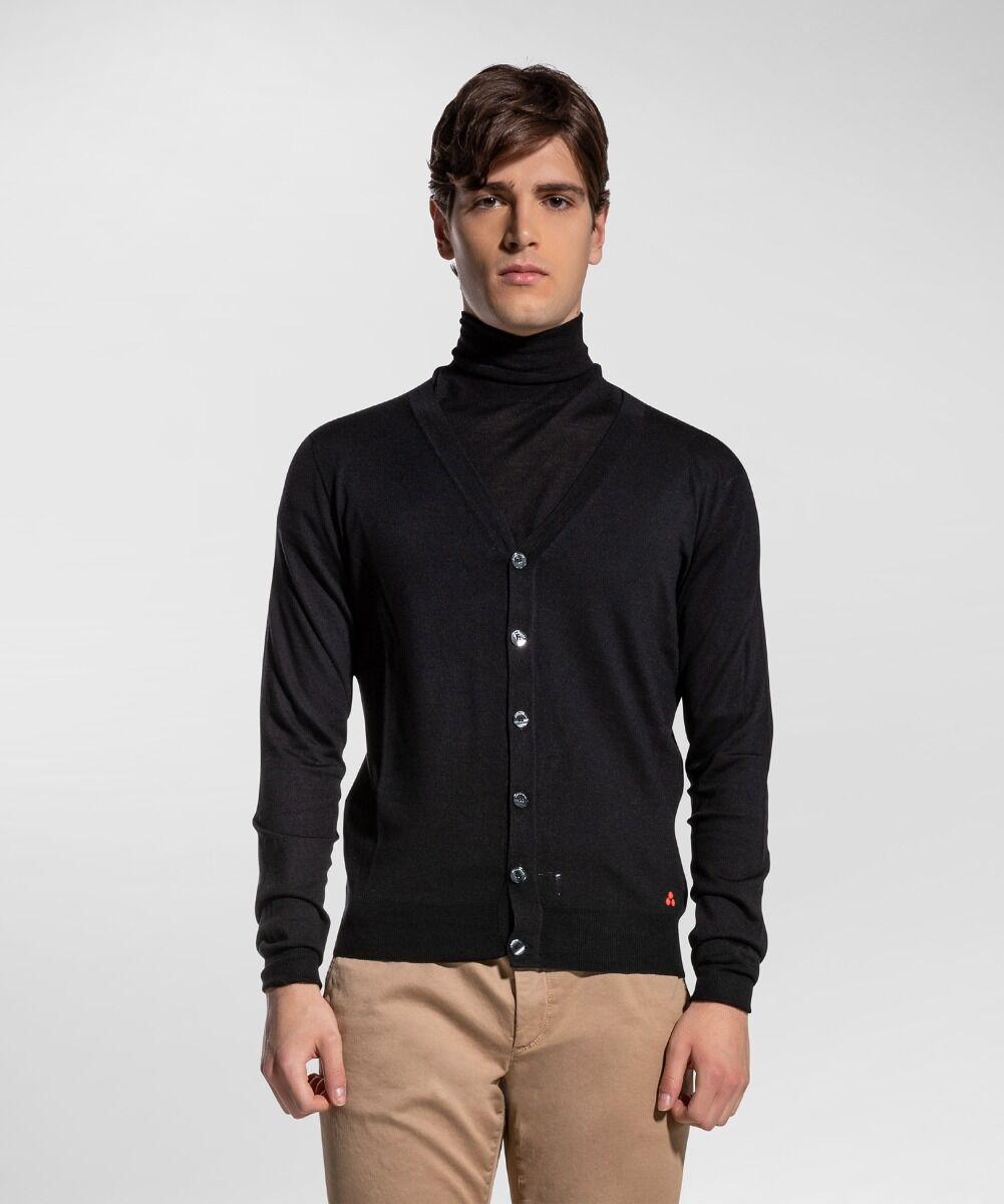 Cardigan in lana merinos - Peuterey
