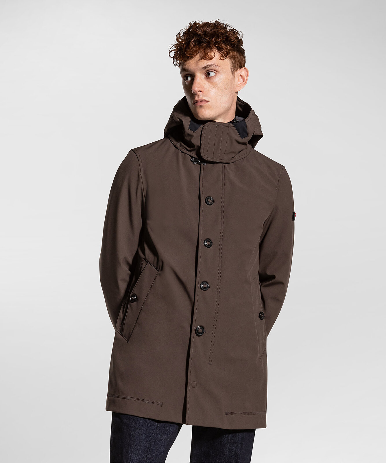 Padded Technical Trench Coat - Peuterey