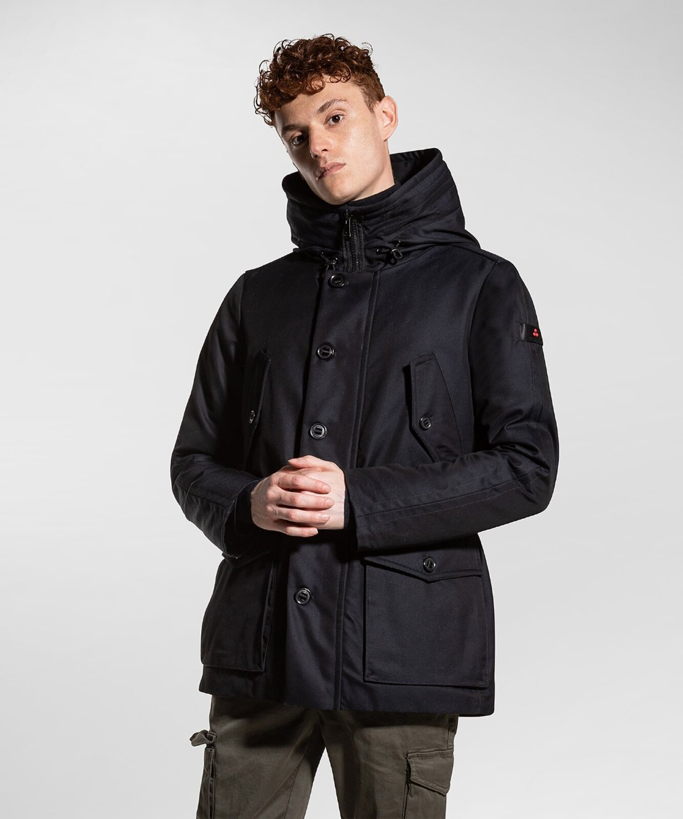 Military/functional field jacket - Peuterey