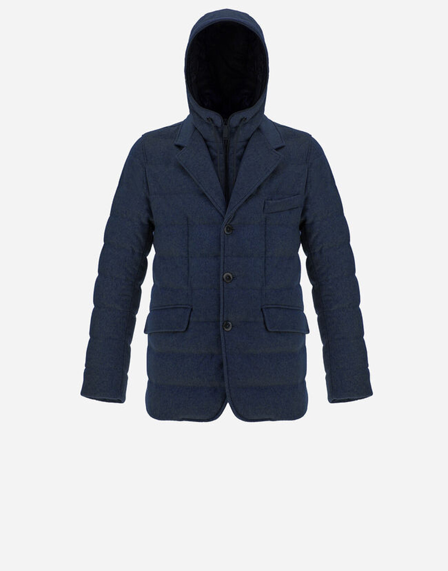 Blazer In Puro Cashmere - Herno
