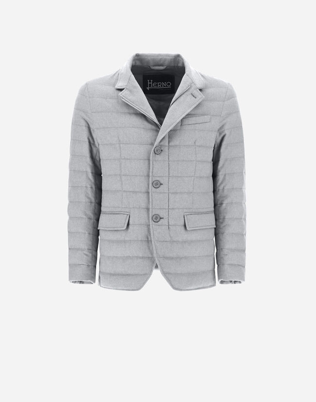 Cashmere And Silk Blazer - Herno
