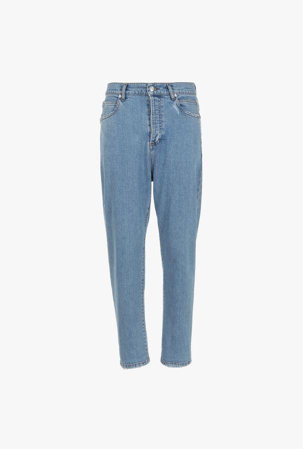 Jeans A Gamba Dritta - Balmain