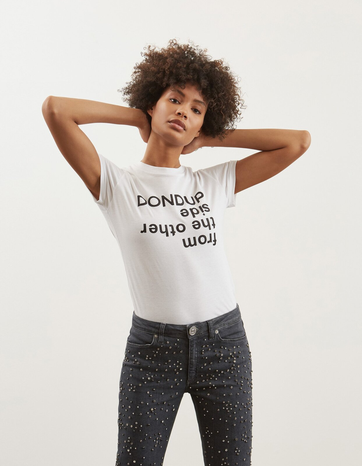 T-shirt in jersey - Dondup
