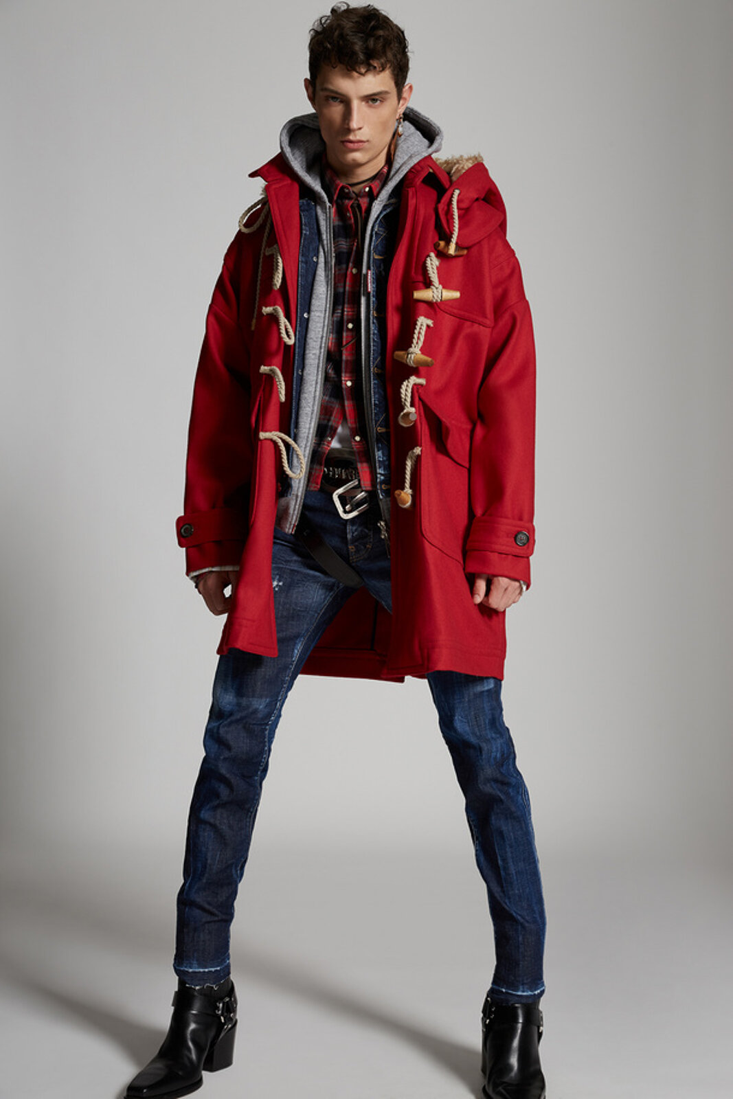Oversized Montgomery Coat - Dsquared2