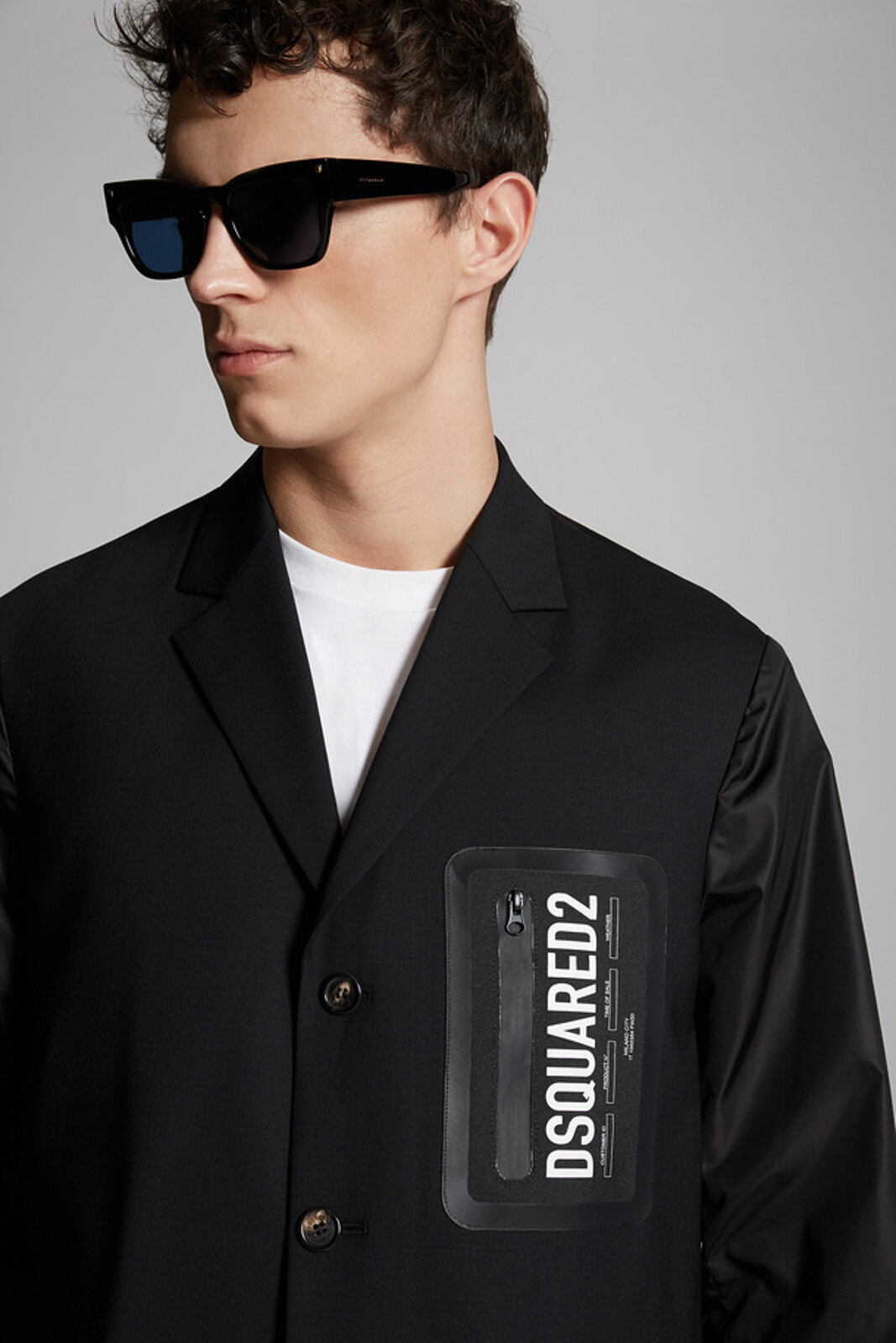 Tropical Stretch Wool Olympic Jacket - Dsquared2