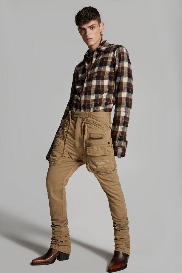 Pantaloni Army Pocket Sharpei - Dsquared2