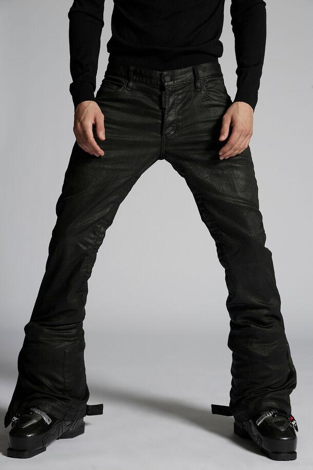 Coated Cotton Ski Pants - Dsquared2