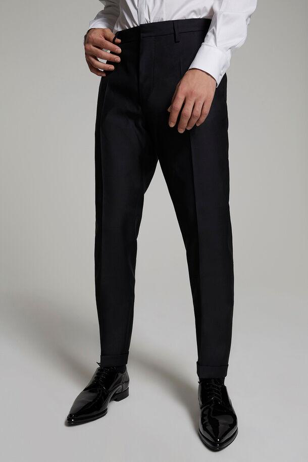 Pantaloni London in lana di seta - Dsquared2
