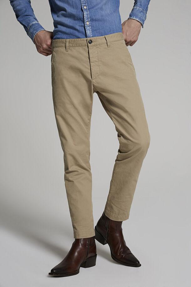 Pantaloni da ragazzo cool in twill di cotone - Dsquared2