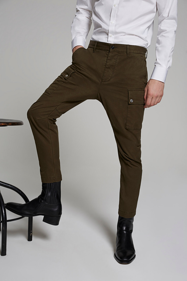 Pantaloni cargo sexy in twill di cotone - Dsquared2
