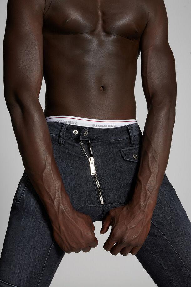 Jeans biker super twinky lavaggio nero - Dsquared2